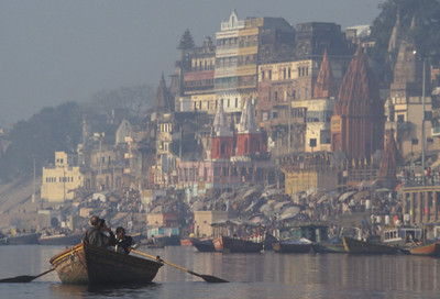 One of my favorite photos of the banks of the Ganges (Ganga) river in Varanasi.
