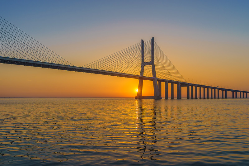 Best of Lisbon Bridge Sunrise Photography 3 By Messagez com