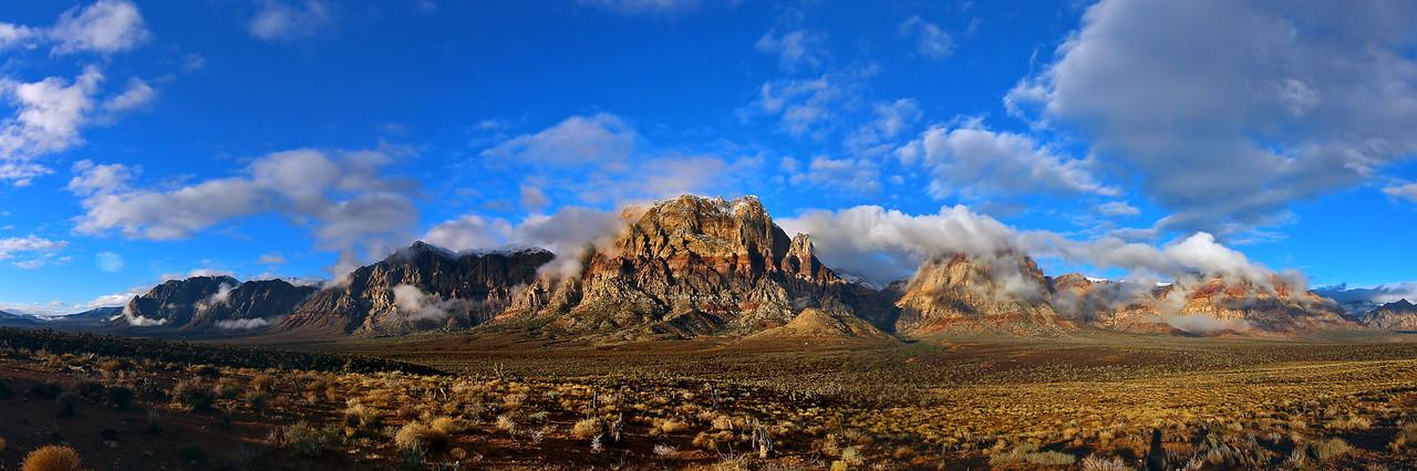 Hidden Red Rock Canyon