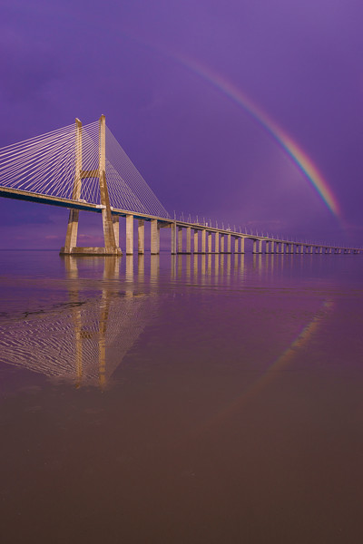 Magical Bridge Rainbow Photography 3 By Messagez com