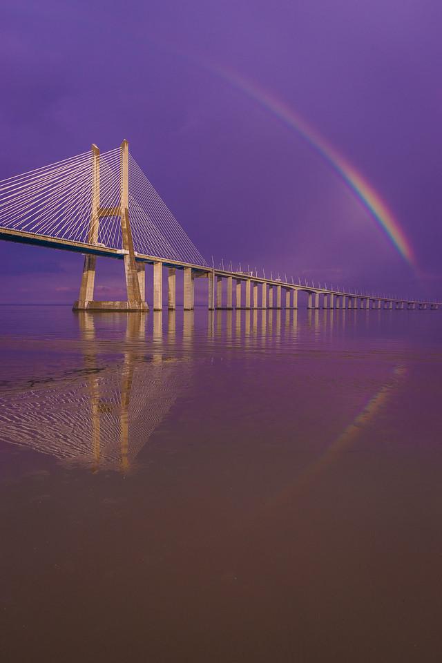 Magical Bridge Rainbow Photography 3 By Messagez com