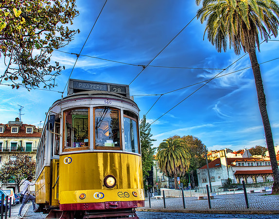 Best Tram in The World Lisbon Tram 28 Photograph