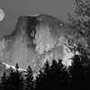 Moon over Halfdome