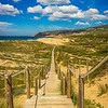 Cascais Beach Pathway Photography By Messagez com