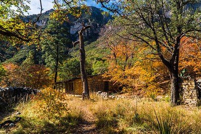 McKittrick Canyon Hunters Cabin