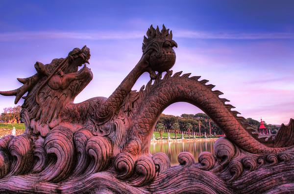Pink Dragon Lake