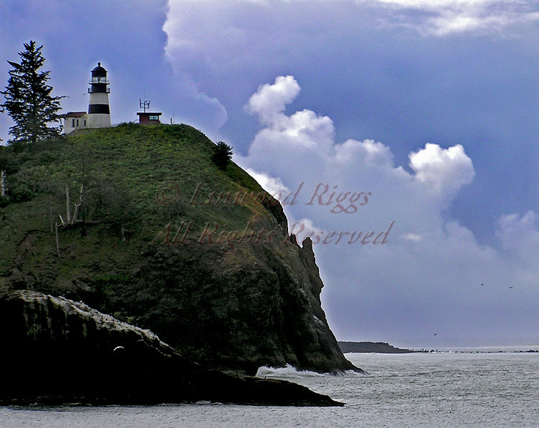 Cape Disappointment, Washington - at the mouth of the Columbia River