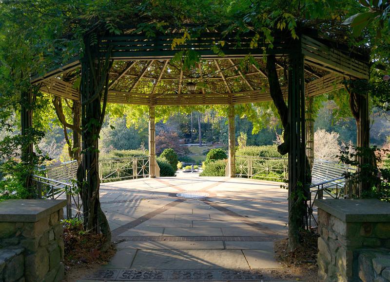 Gazebo, Duke Gardens, 2012