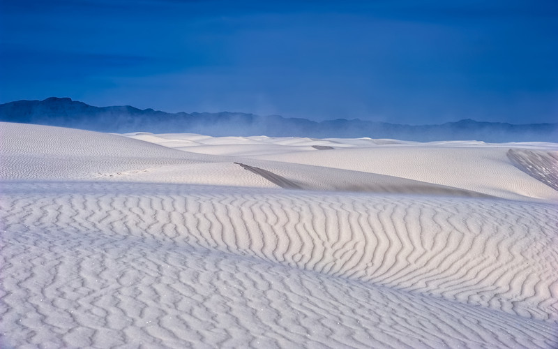 Tempestuous Dunes of White Sands National Monument