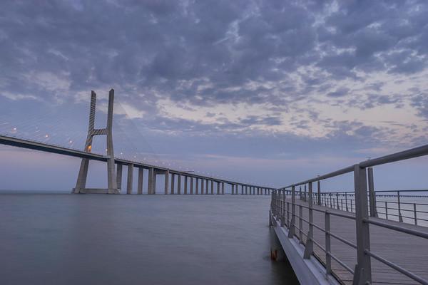 Another View at Lisbon Vasco da Game Bridge Photography 2 Messagez com