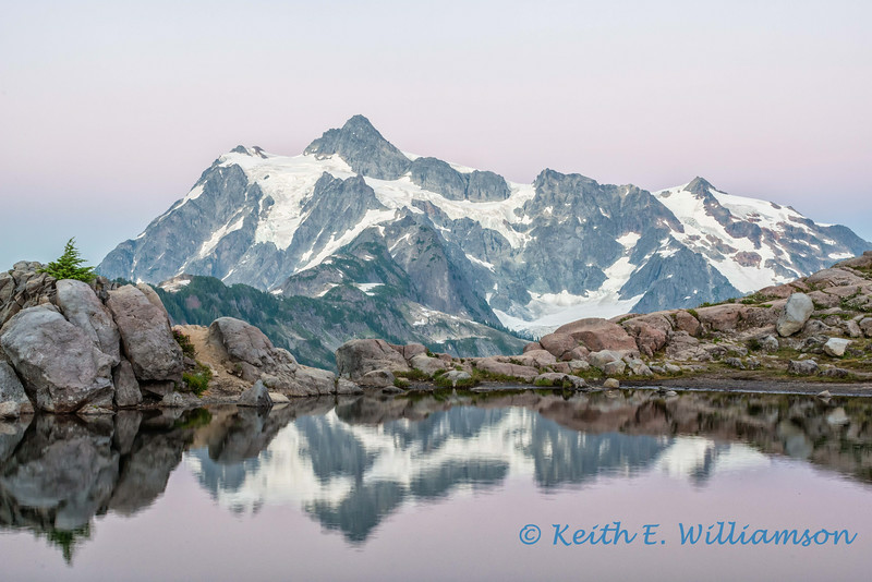 Mount Shuksan, Artist's Point, after sunset