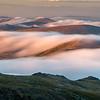 Foggy Rocky Mountains