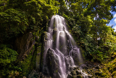 Waterfall of Love in Azores Sao Miguel Island Photography By Messagez com