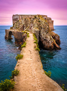 Road To The Berlenga Island Portugal Photography By Messagez - Copy