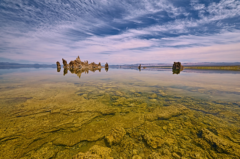 Reflected Serinity at Mono Lake