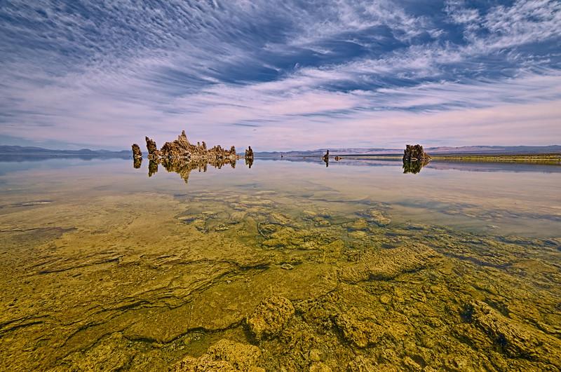 Reflected Serinity at Mono Lake