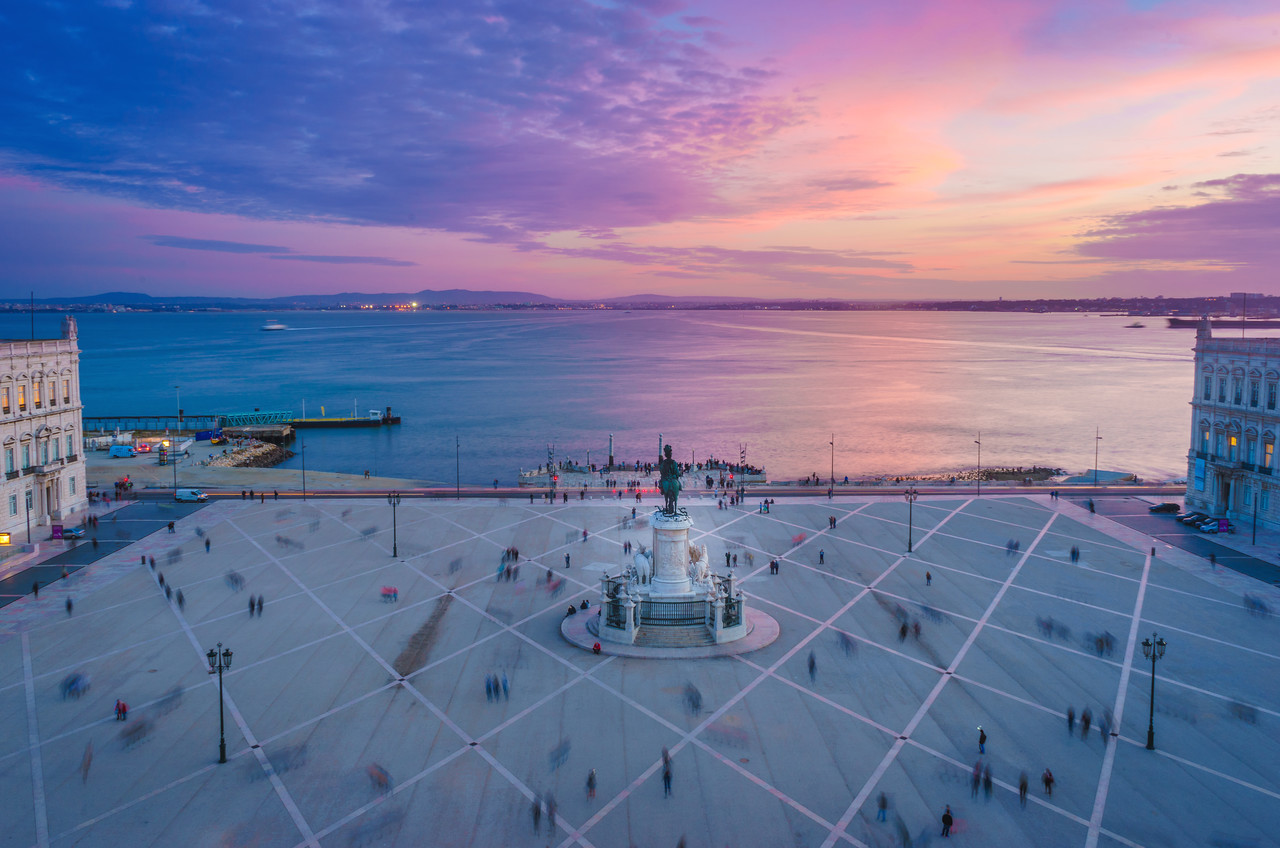 Lisbon Triumphal Arch Viewpoint Sunset Photography 19 By Messagez com