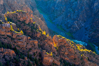 Sunset in Black Canyon