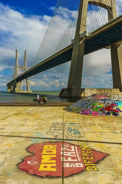 Portugal Lisbon Bridge Art Photography 21 By Messagez com