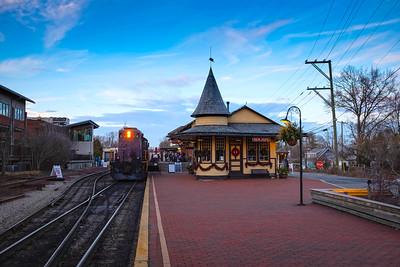 New Hope Railroad Station
