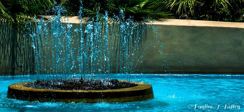 DSC_0322 Blue Water Fountain