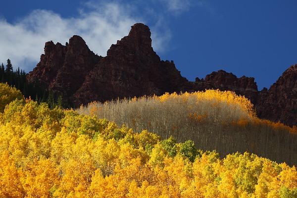 Sievers Mountain, Maroon Bells