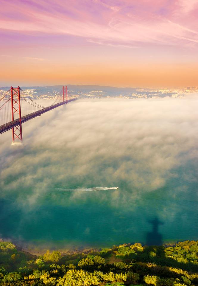 Original Lisbon 25th of April Bridge Landscape Photography 20 By Messagez com