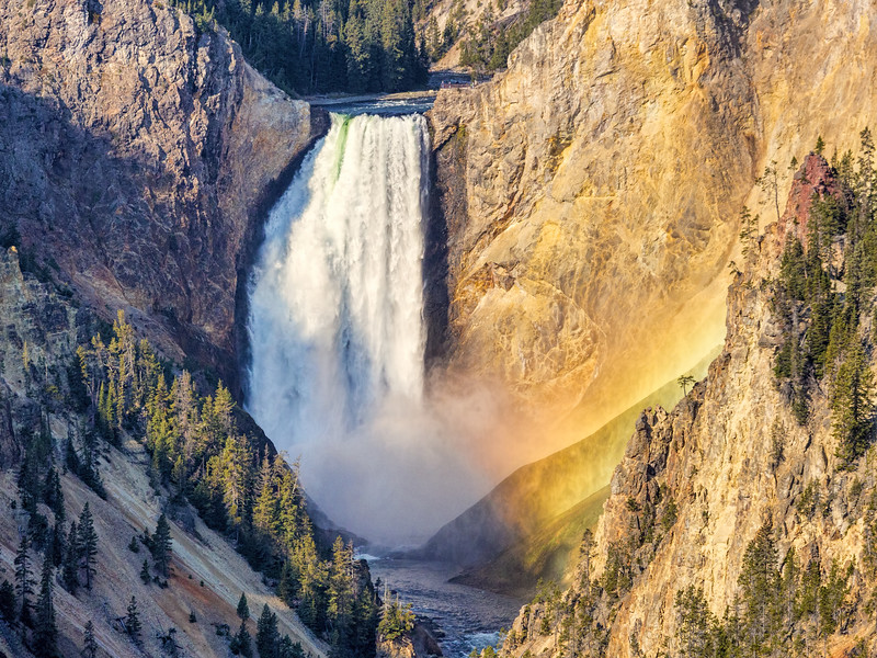 Upper Falls, Grand Canyon of the Yellowstone