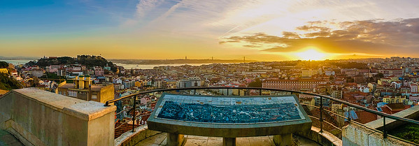 Best of lisbon Viewpoints Panoramic Photography By Messagez com