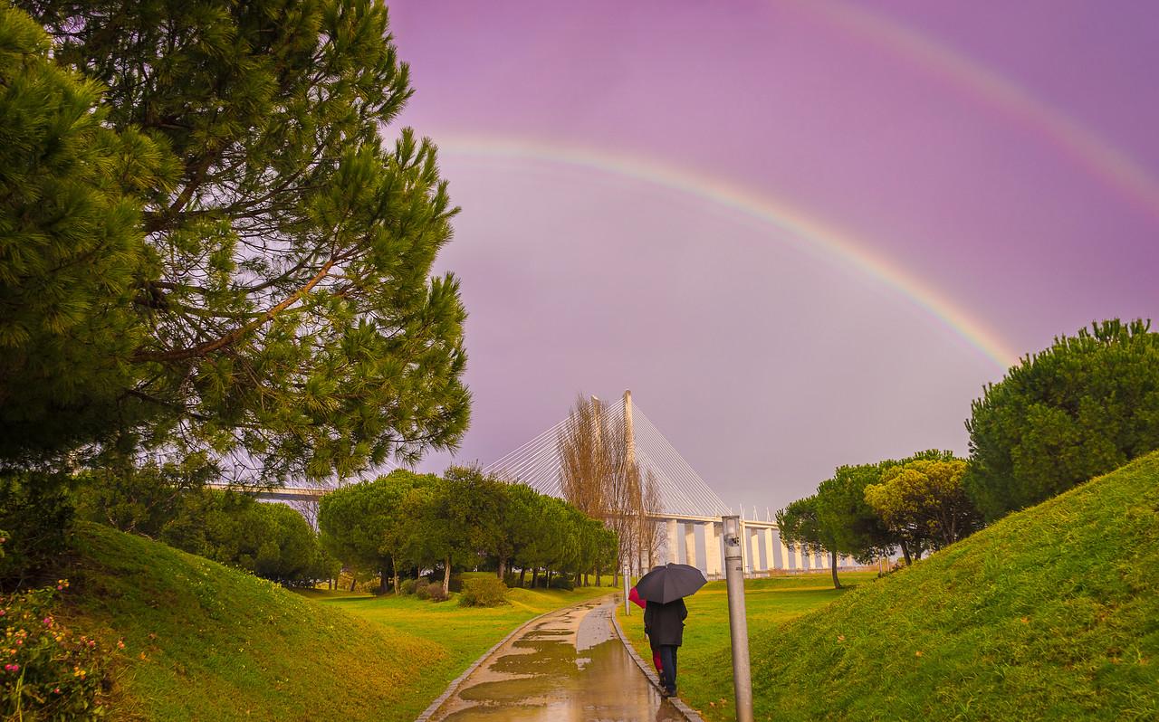 Original Double Rainbow Portal Photography By Messagez com