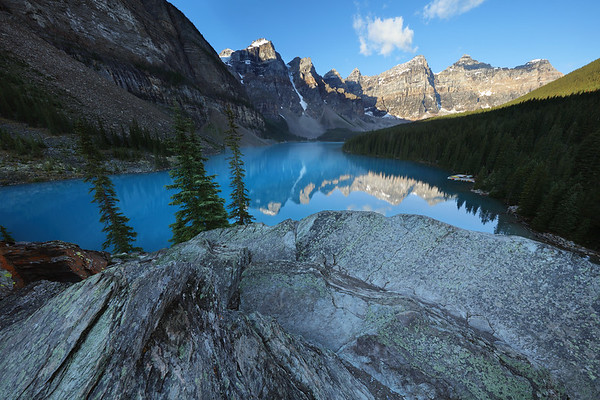 One of the Most Beautiful Places on Earth, Moraine Lake, Banff National Park