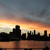 Photo by Cheri.  Chicago skyline from the lake.