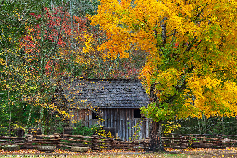 Grist Mill in Cade's Cove