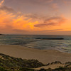 Portugal Vila Nova de Milfontes at Sunset  Landscape Panoramic Photography By Messagez com