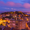 Original Lisbon Blue Hour Landscape Photography By Messagez com