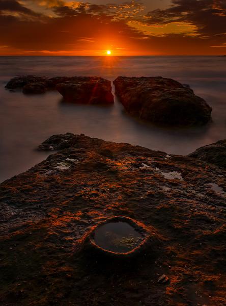 Sunrise and Circle
