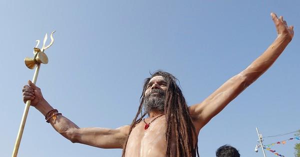Naga Baba sadhu