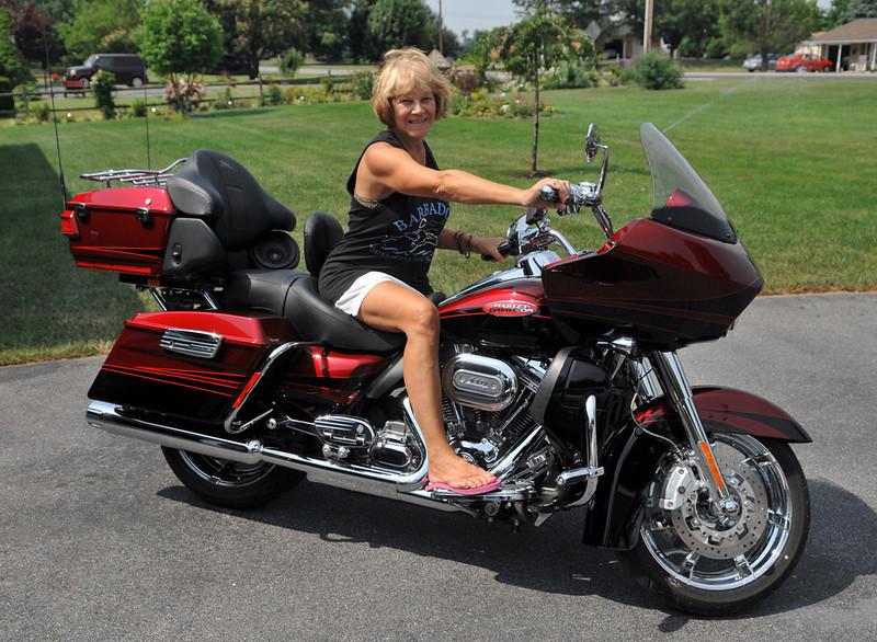 Judy on Jon's Ride, Shippensburg, PA 2012
