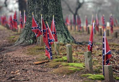 Confederate Cemetery, Marietta, Georgia, February 2013