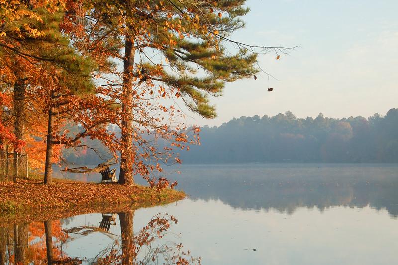 Parkwood lake, North Carolina<br /> best print size - 8x12 or 12x18