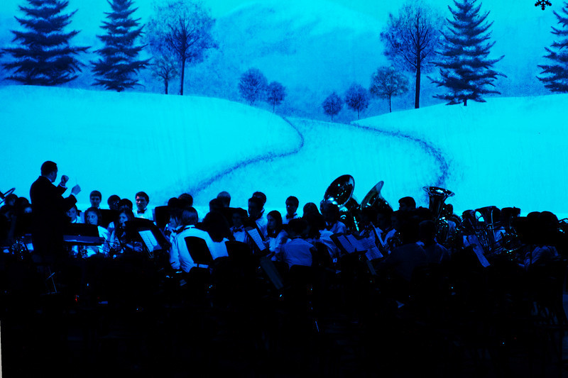 Waubonsie Valley High School Band in the Prism concert, Dec 2008.