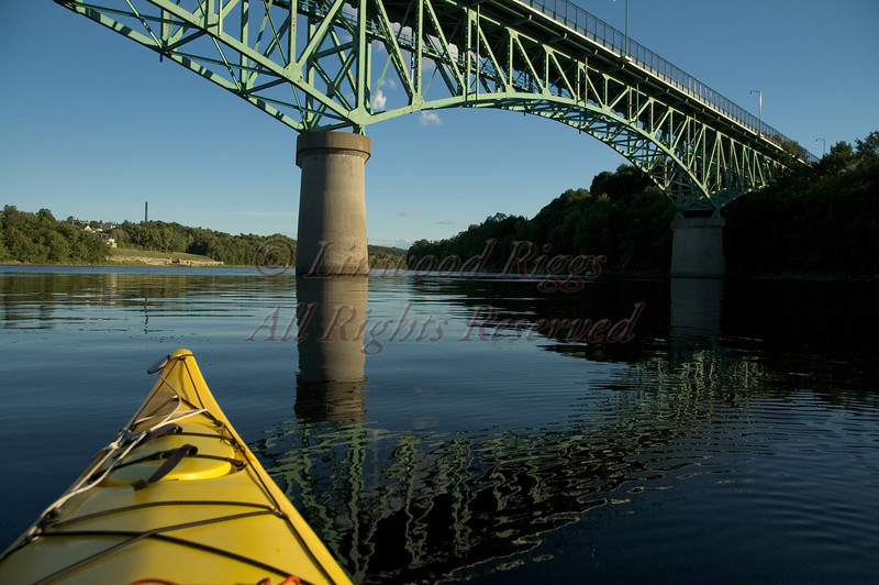 Memorial Bridge, Augusta, Maine