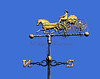 Weathervane atop the Hallowell, ME Fire Station