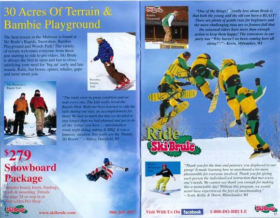 Ski Brule 2011 Brochure