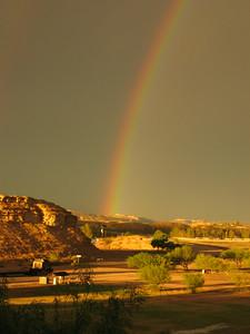 Double Rainbow, Lajitas, TX
