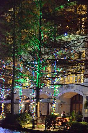 River Walk Christmas Lights, San Antonio, TX