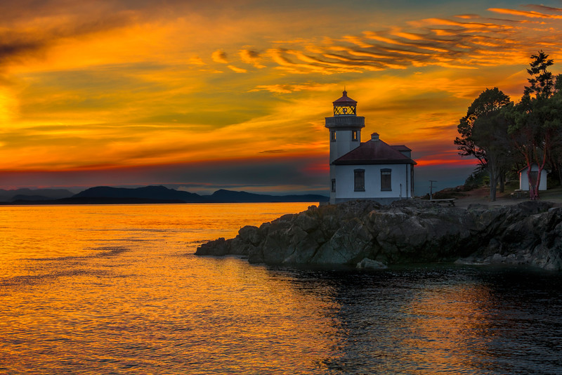 Lime Kiln Lighthouse, San Juan Island, Washington