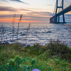 Lisbon Vasco da Gama Bridge at Sunrise Photography 3 By Messagez com