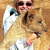 Judy and the lion cub