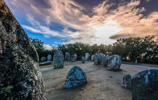 Portugal Cromlech of the Almendres Megalithic Magic Photography 8 By Messagez com